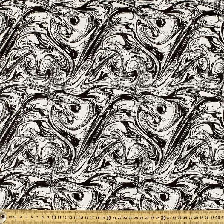 Mix Monotones Marble Cotton Fabric