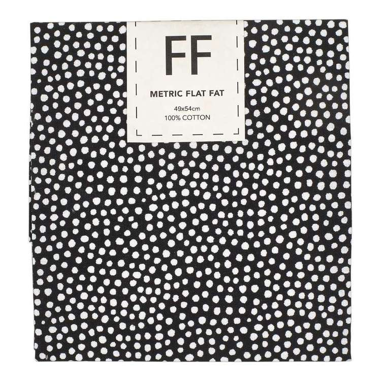 Mix Monotones Spot Cotton Flat Fat