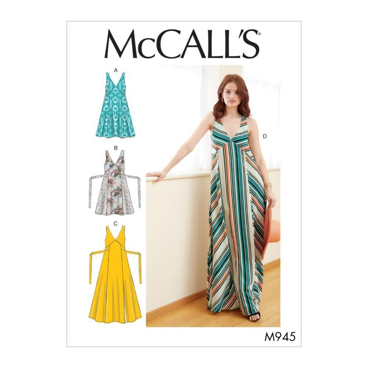 McCall's Pattern M7945 Misses' Dresses