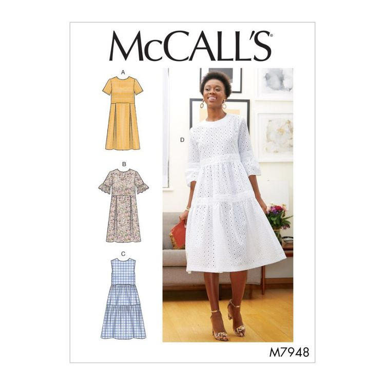 McCall's Pattern M7948 Misses' Dresses