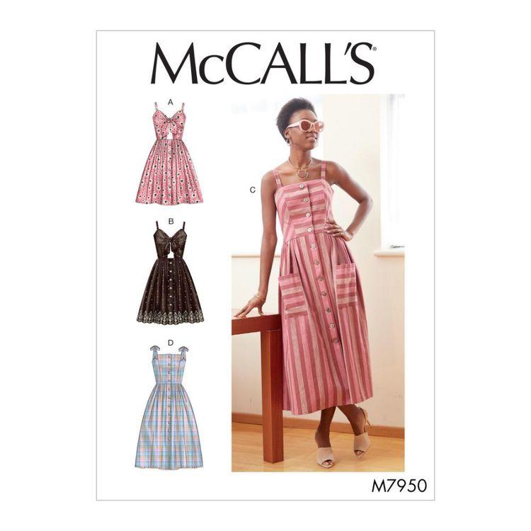 McCall's Pattern M7950 Misses' Dresses
