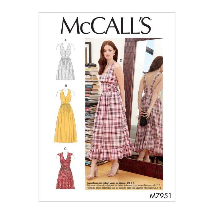 McCall's Pattern M7951 Misses' Dresses