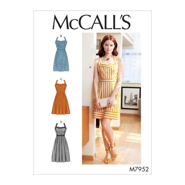McCall's Pattern M7952 Misses' Dresses