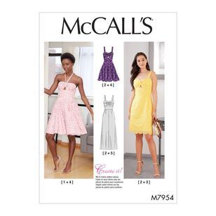 McCall's Pattern M7954 Create It! Misses' Special Occasion