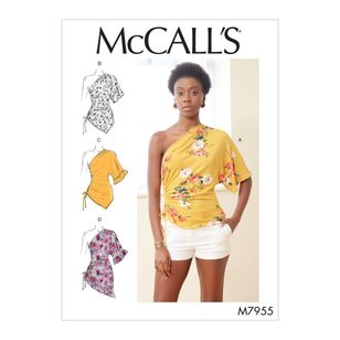 McCall's Pattern M7955 Misses' Tops