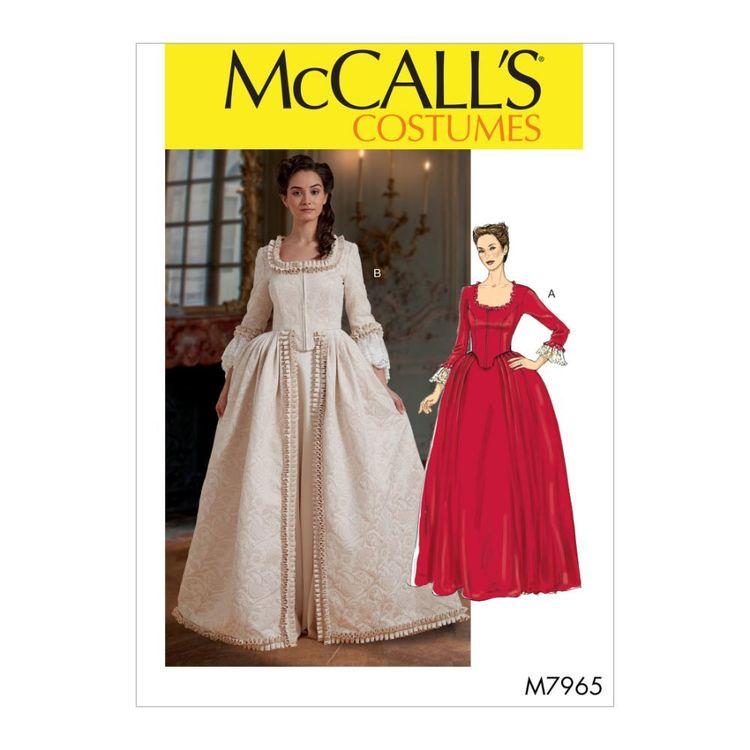 McCall's Pattern M7965 Misses' Costume