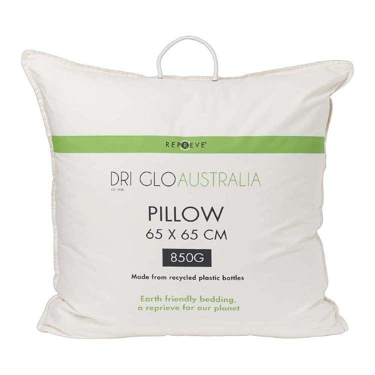 Dri Glo Repreve Recycled European Pillow