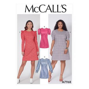 McCall's Pattern M7968 Misses' and Women's Dresses