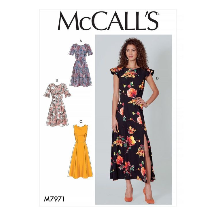 McCall's Pattern M7971 Misses' Dresses