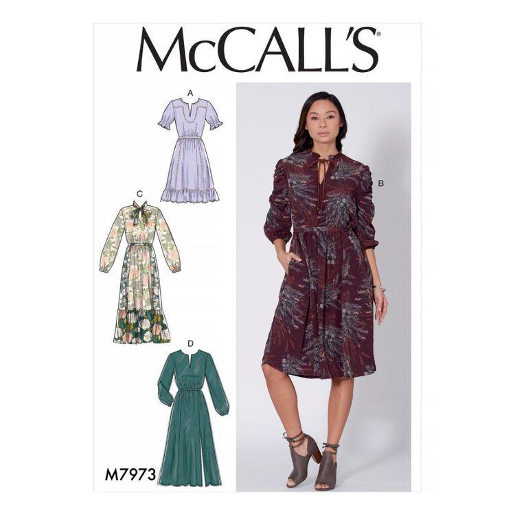 McCall's Pattern M7973 Misses' Dresses