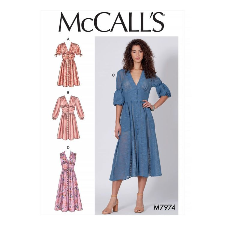 McCall's Pattern M7974 Misses' Dresses