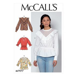 McCall's Pattern M7977 Misses' Tops