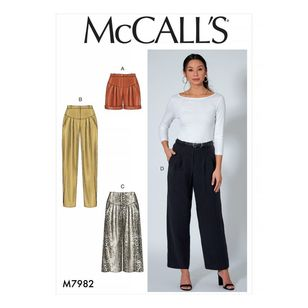 McCall's Pattern M7982 Shorts and Pants
