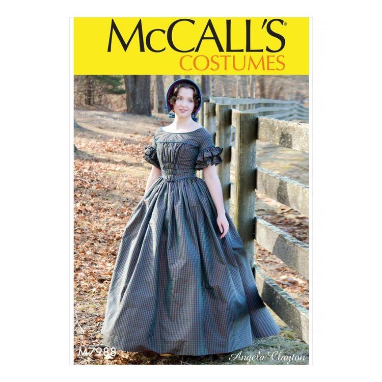 McCall's Pattern M7988 Angela Clayton Misses' Costume