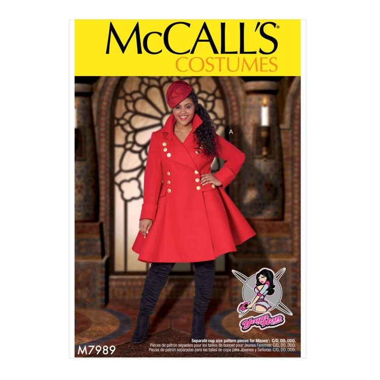 McCall's Pattern M7989 Yaya Han Women's Costumes
