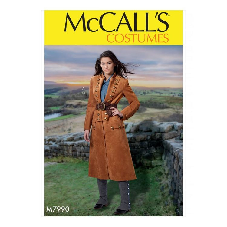 McCall's Pattern M7990 Misses' Costume