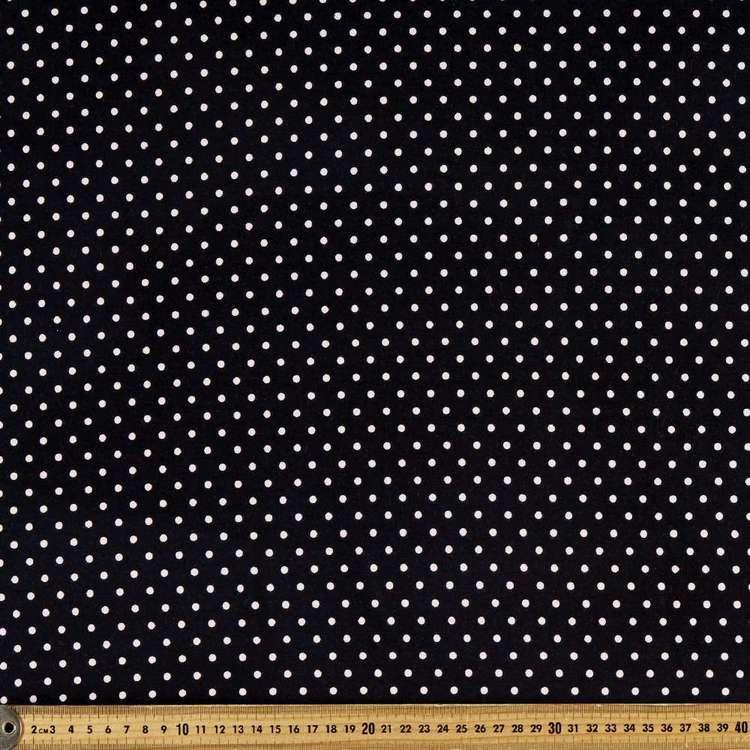 Spot On Spot Printed Rayon Spandex Knit Fabric