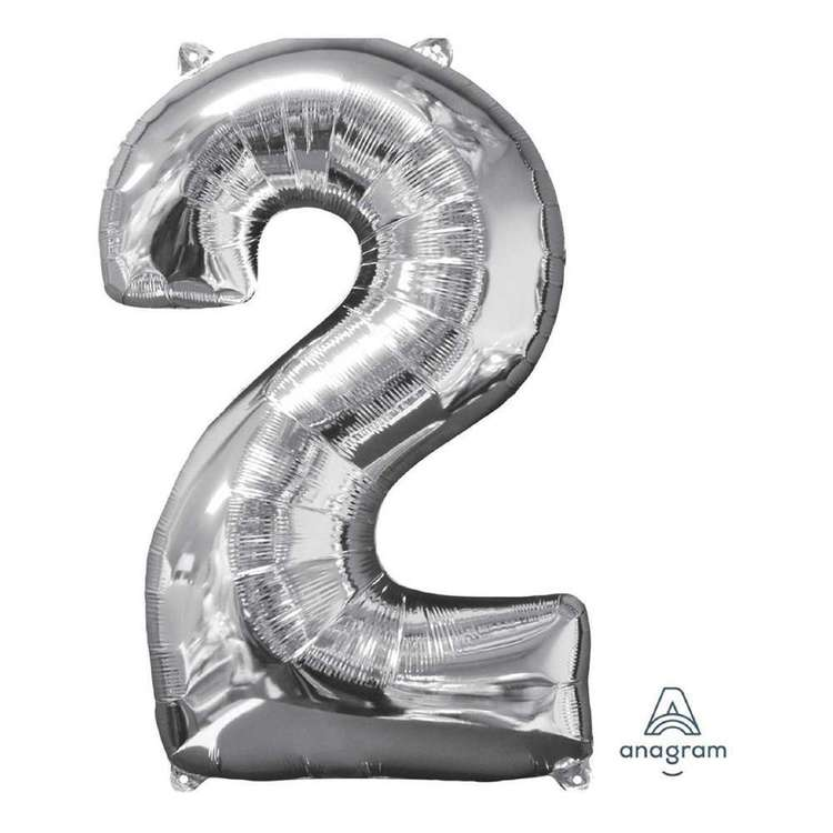 Anagram Number 2 Foil Balloon
