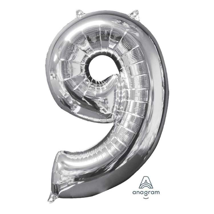 Anagram Number 9 Foil Balloon