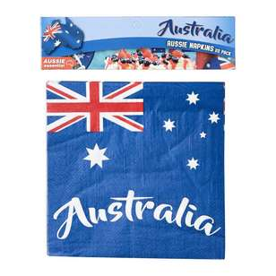 Australia Day Napkins 20 Pack