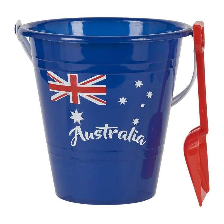 Australia Day Beach Bucket & Spade