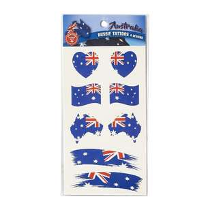 Australia Day Tattoos 8 Pack