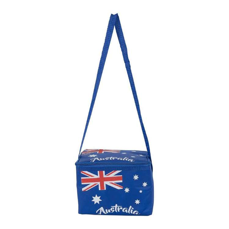 Australia Day Cooler Bag Blue 20 x 15 x 15 cm