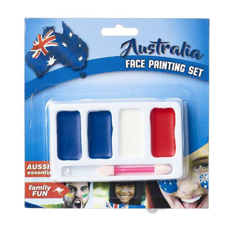 Australia Day Face Paint Set