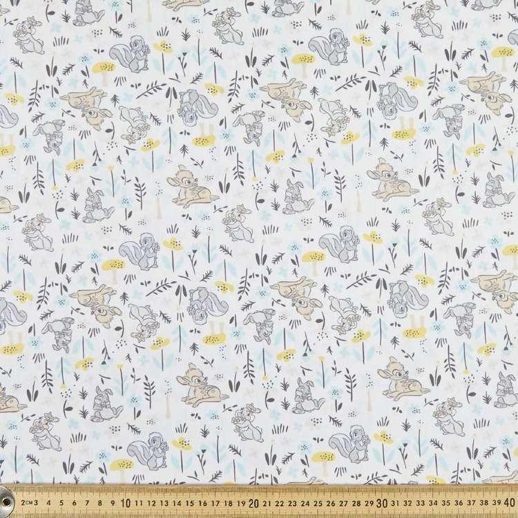 Disney Bambi & Co Cotton Poplin Fabric