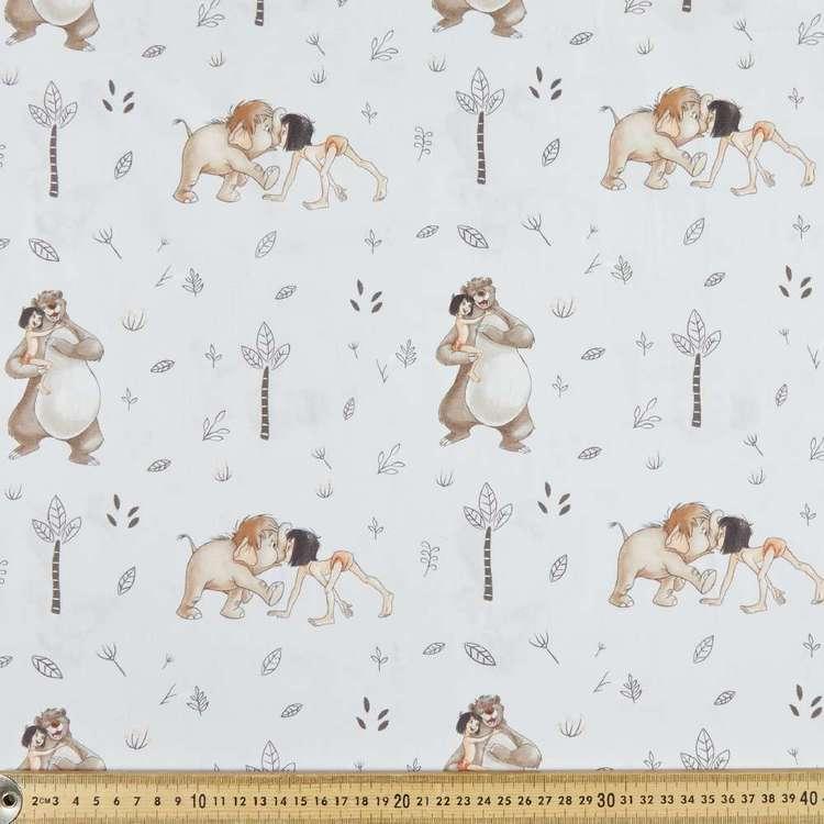 Disney Jungle Book Chums Cotton Poplin Fabric
