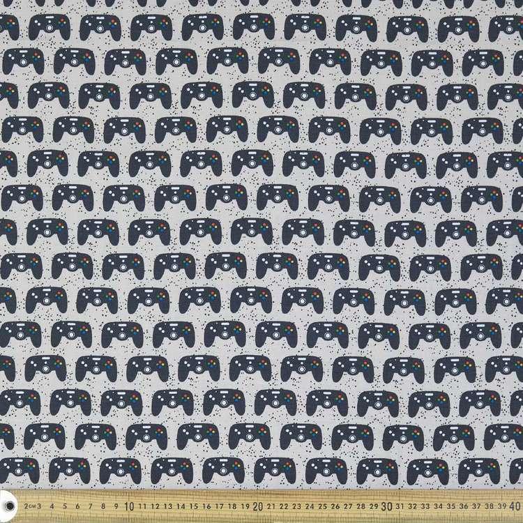 Console Kids Organic Cotton Fabric