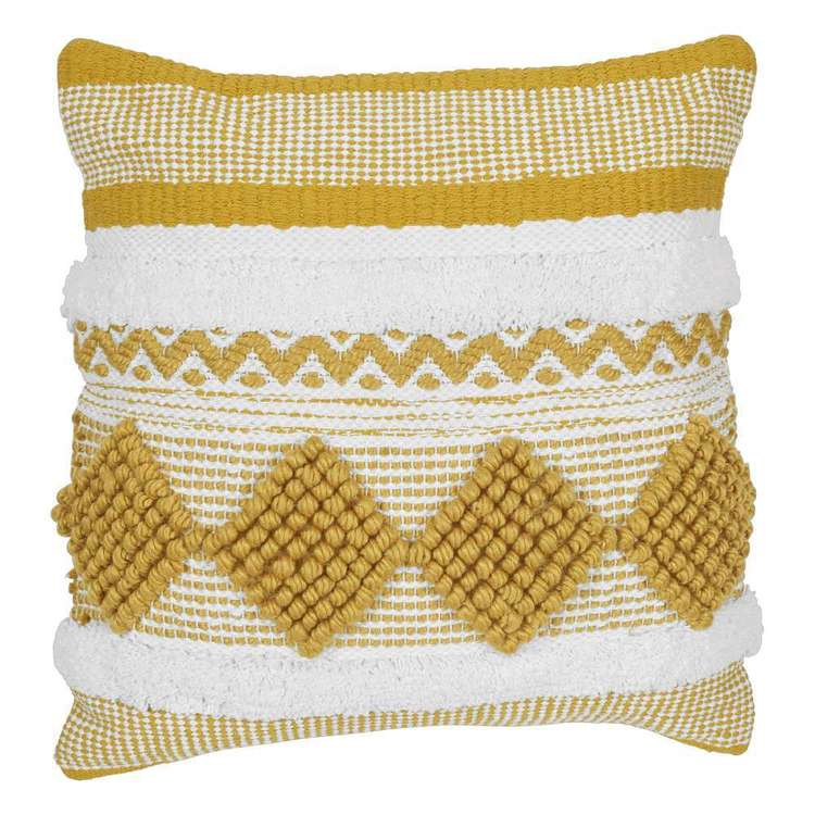 Koo Elite Pilar Woven Tufted Cushion