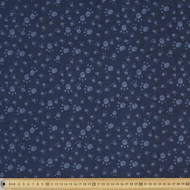 Dog Show Paws Cotton Fabric