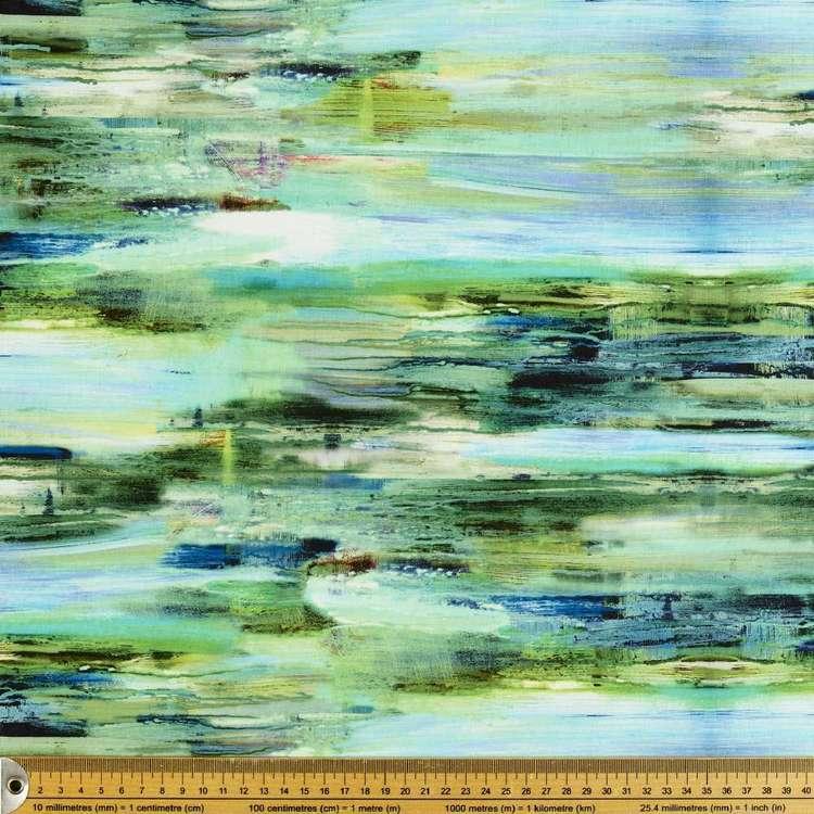 P & B Textiles Digital Enchanted Stripe Cotton Fabric