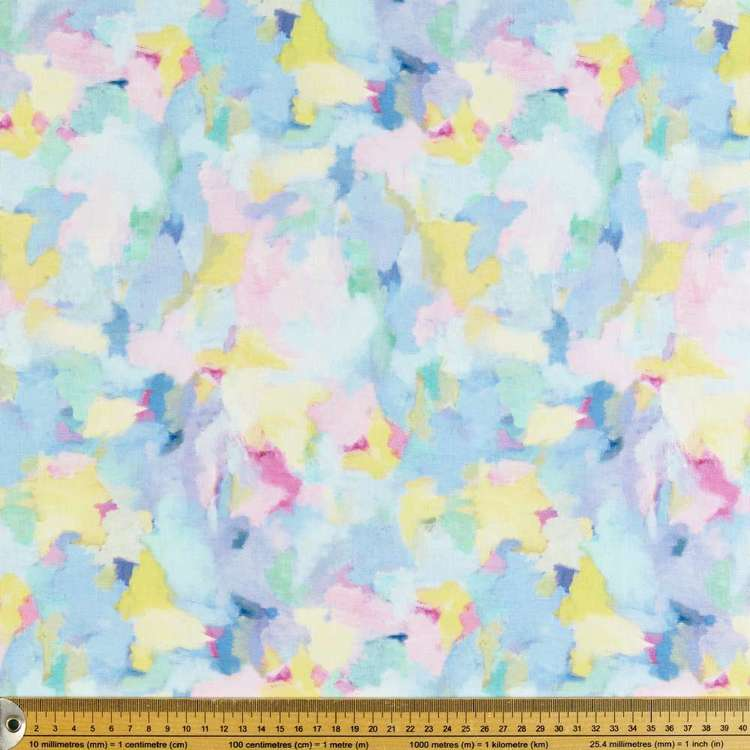 P&B Textiles Digital Nature's Garden Patch Fabric