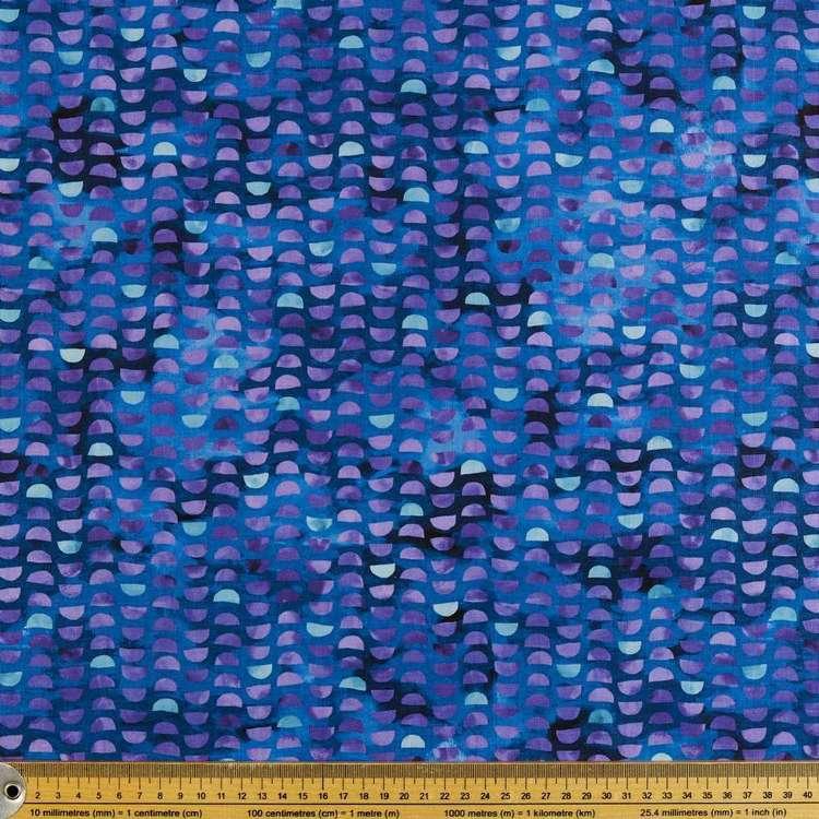 P&B Textiles Digital Nature's Garden Half Moon Fabric