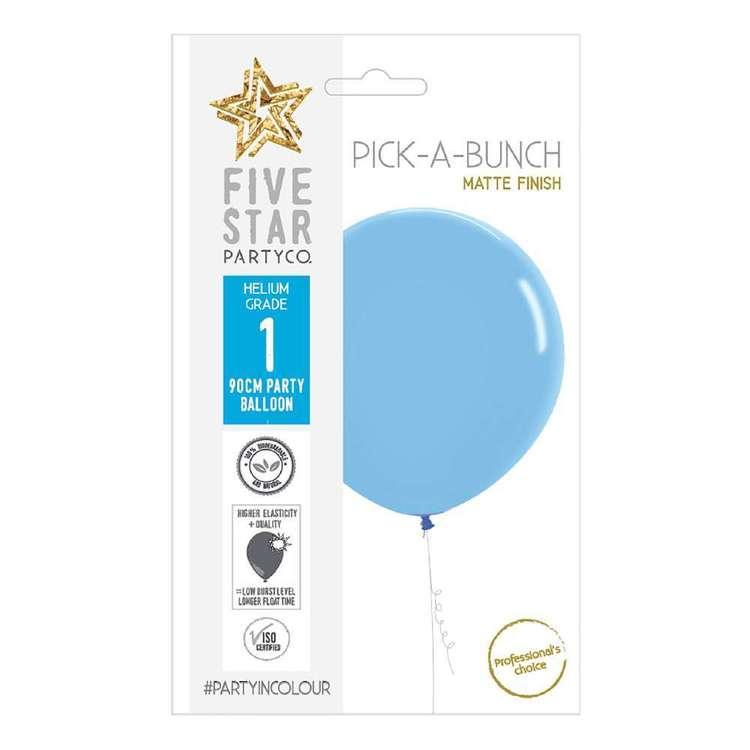 Five Star 90 cm Matte Pastel Round Balloon