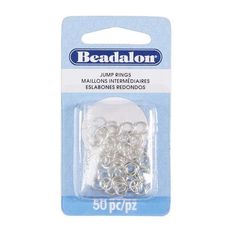 Beadalon 50 Pieces Jump Rings
