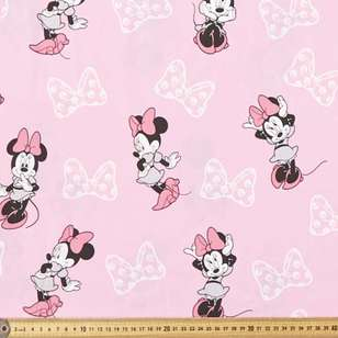 Minnie Mouse Printed Cotton Fabric