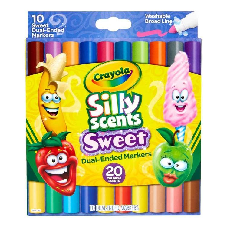Crayola Silly Scent Double Doodlers 10 Pack