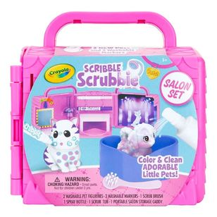 Crayola Scribble Scrubbies Salon Set