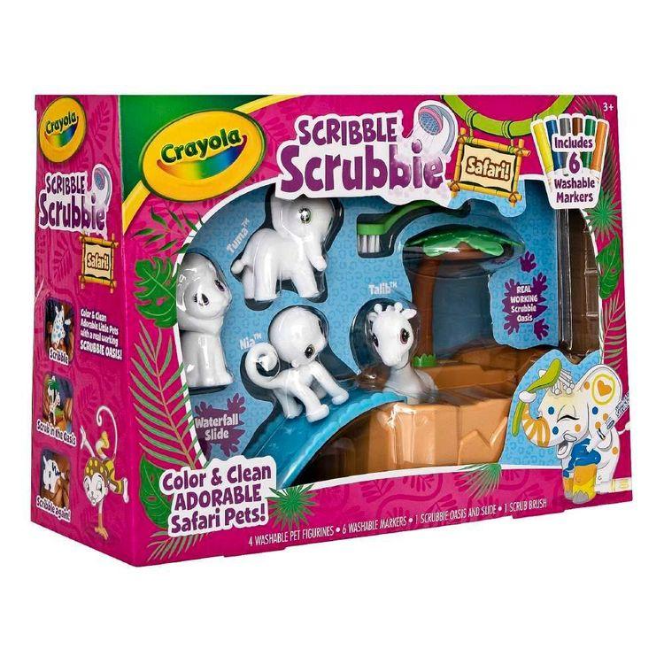 Crayola Scribble Scrubbies Safari Set