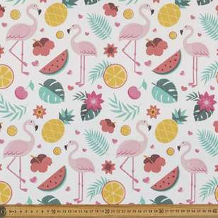 Flamingo Multipurpose Cotton Fabric