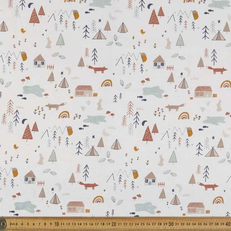 Woodland Multipurpose Cotton Fabric