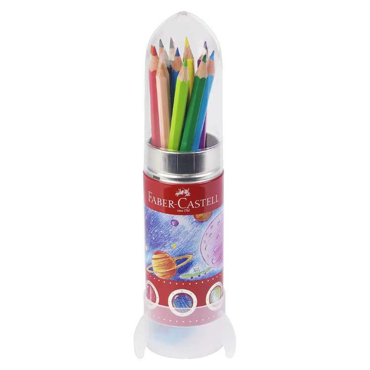Faber Castell Colour Pencil Rocket Tin 20 Pack