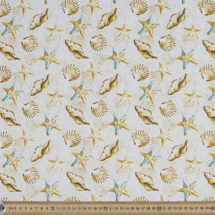Ocracoke Shells Cotton Fabric
