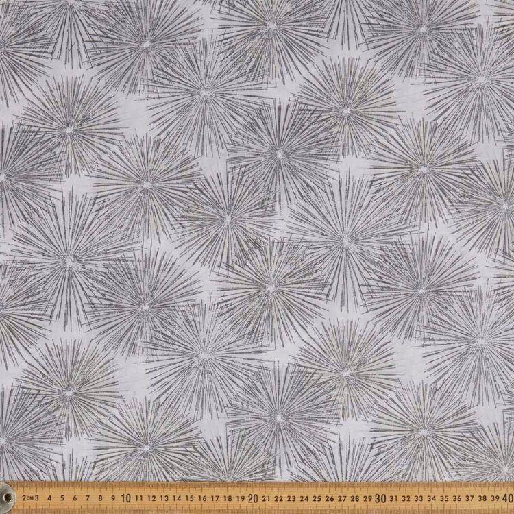 Sand & Water Burst Cotton Fabric
