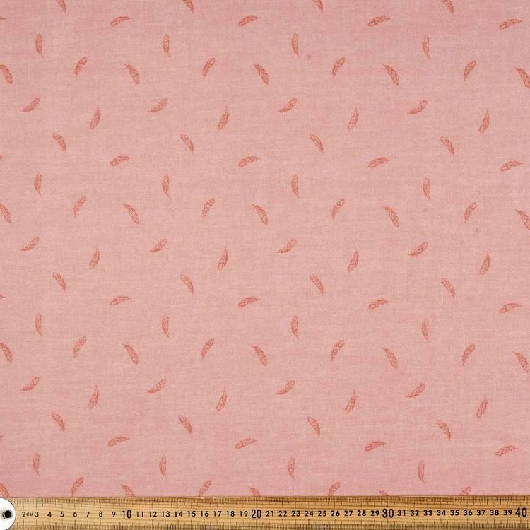 Light As A Feather Printed 135 cm Muslin Fabric