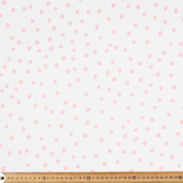 Spot Printed 138 cm Muslin Fabric