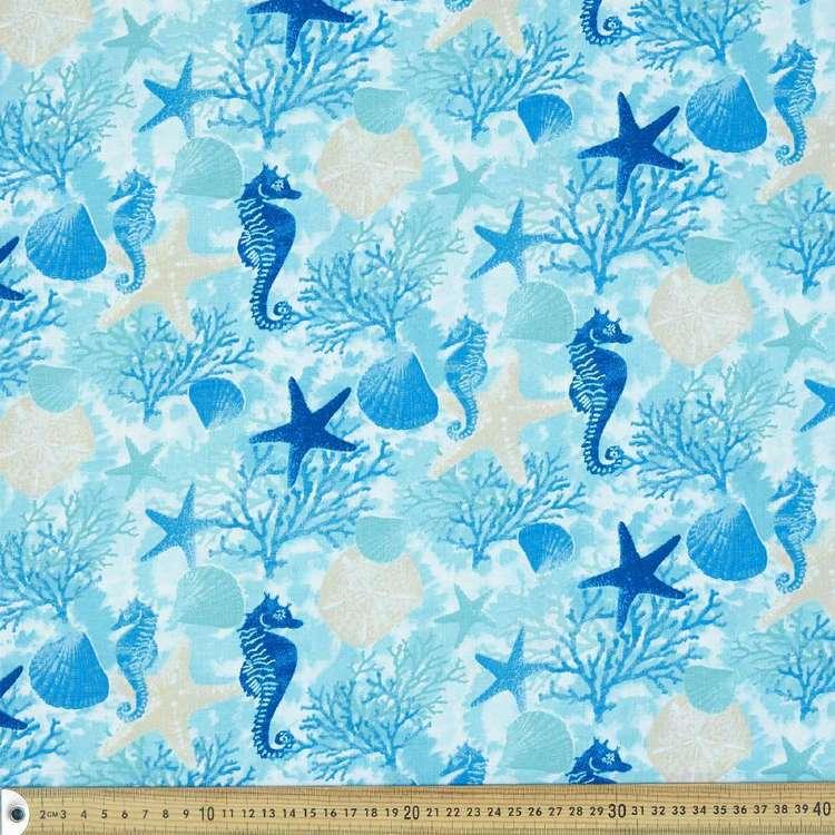 Ocean Allover Cotton Fabric